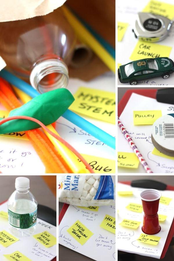Paper Bag Stem Challenges Week Kids
