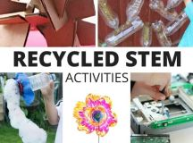 Recycled STEM Activities and STEM Challenges for Kids
