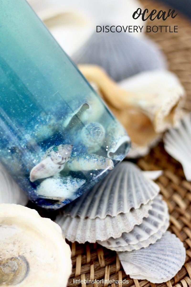 Ocean Discovery Bottle Summer Beach and Ocean Activity for