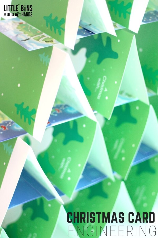 Christmas Card Engineering Activity And Stem Challenge