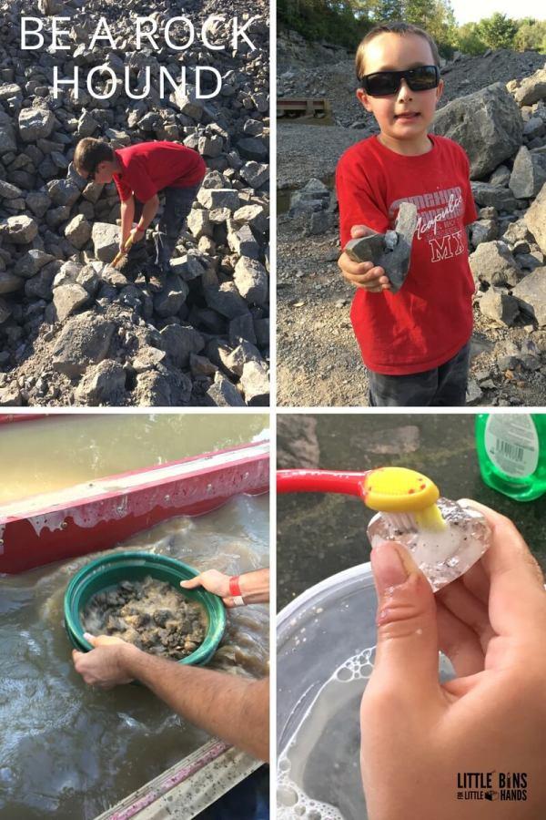 Fun Nature Activities Kids Little Bins Hands