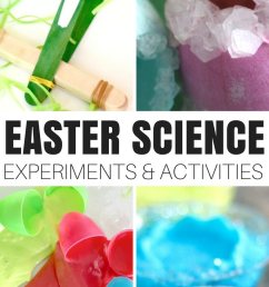 Easter Science Activities and Experiments   Little Bins for Little Hands [ 1750 x 800 Pixel ]