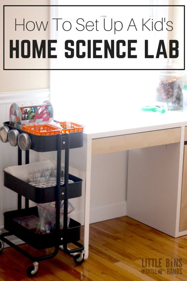Set Home Science Lab Kids Including Activities