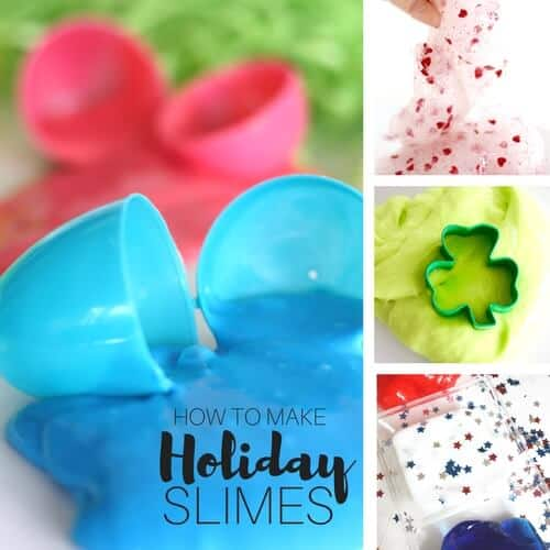 Make Holiday Slime Ideas Tips and Tricks for Kids Science