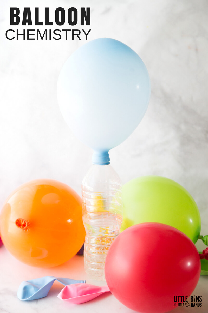 hight resolution of balloon baking soda science experiment combine quick science and balloon play with our easy to set up chemistry for kids