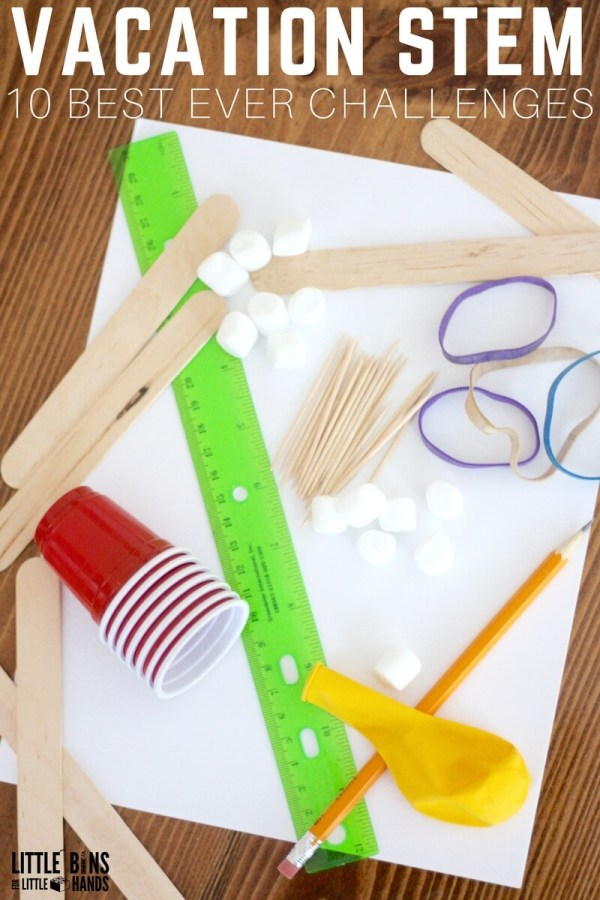 Simple Stem Activities And Easy Challenges