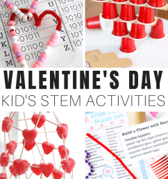 Valentine STEM Activities For Kids   Little Bins for Little Hands [ 1750 x 800 Pixel ]