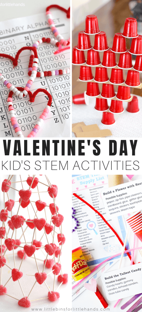 small resolution of Valentine STEM Activities For Kids   Little Bins for Little Hands