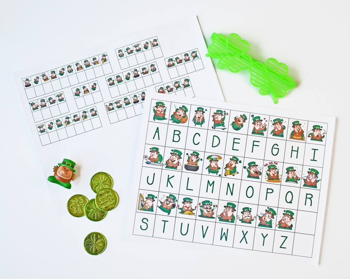 St Patricks Day Code Breaking Activity Worksheets Free
