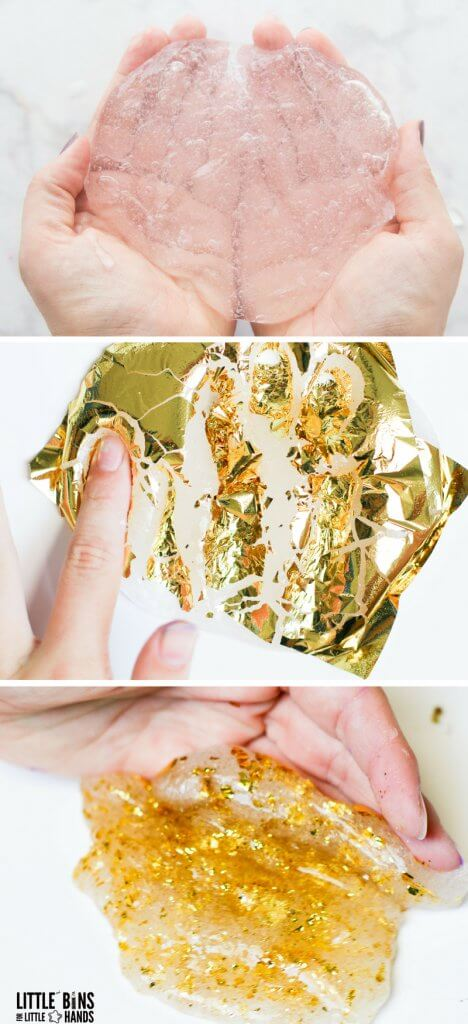 gold leaf slime recipe