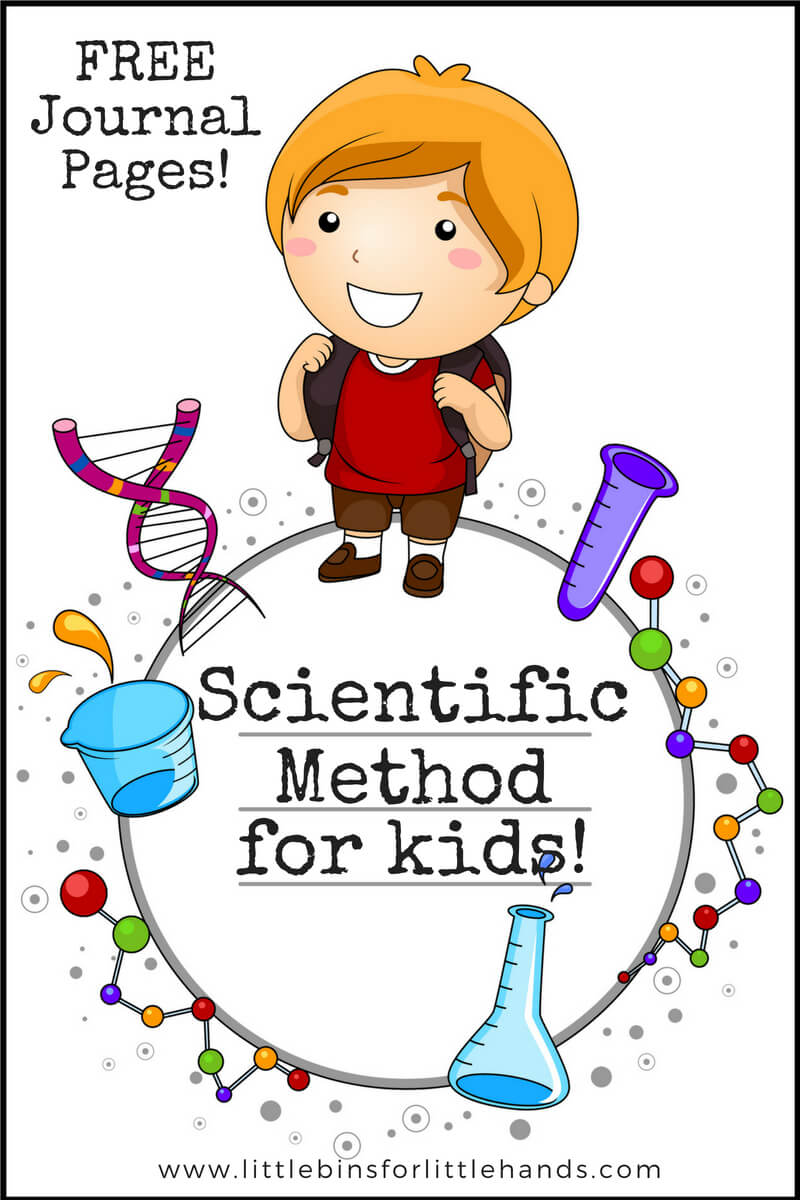 hight resolution of scientific method for kids with examples