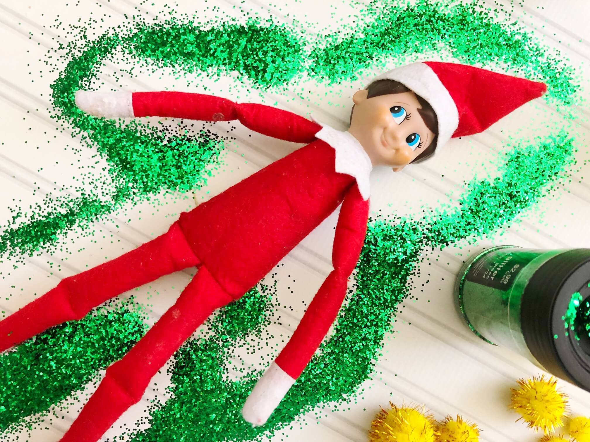 Elf On The Shelf Ideas With Slime Christmas Activities