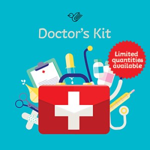 Doctor's kit book box - limited stock!