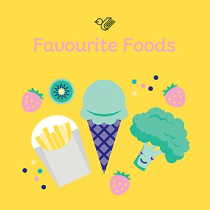 Favourite foods book box - order now!