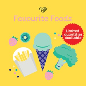Favourite foods book box - limited stock!