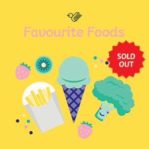 Favourite foods book box - sold out!