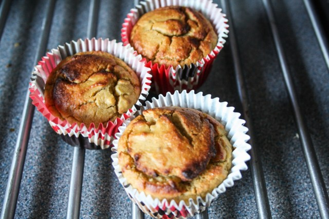 Baked Nut Free Banana Muffin