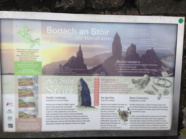 Old Man of Storr Info