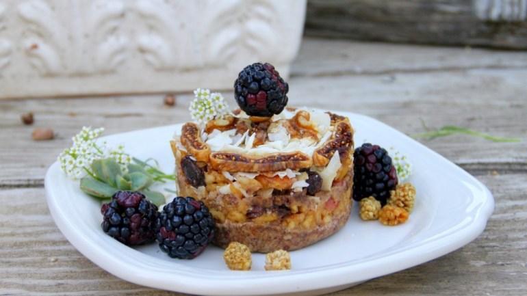 Raw Apple Strudel – Grain & Gluten Free