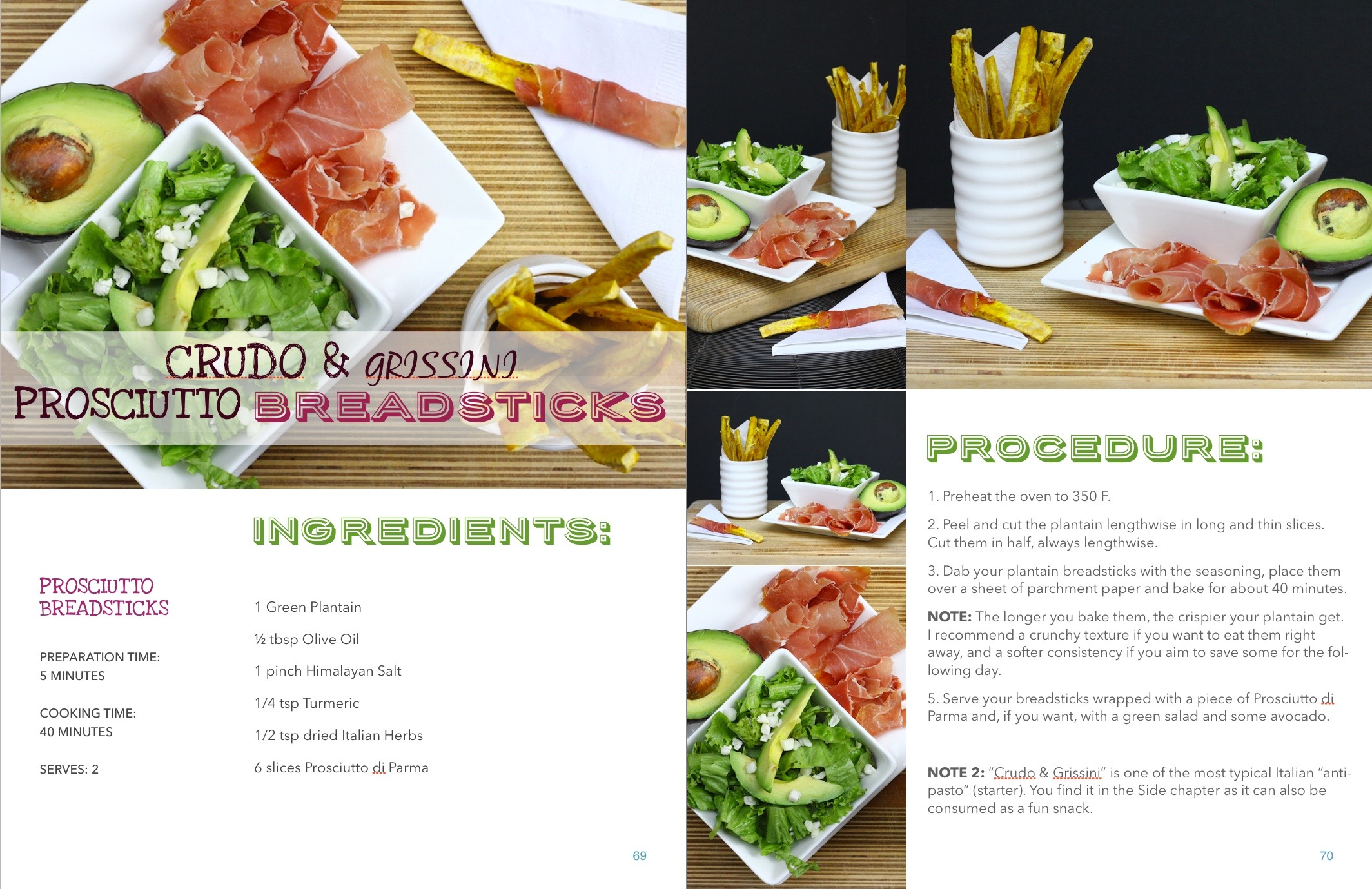 AIP Breadsticks with Prosciutto