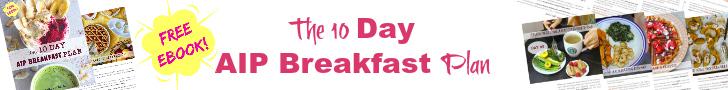 10 Day AIP Breakfast Plan Banner