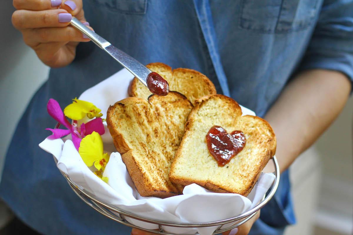 Gluten Free Toast at Grand Hyatt Erawan. A Gluten Free Luxury Hotel in Bangkok copy