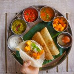 Dosa: Gluten Free Indian Crepe with Coconut Chutney from the Chef at Park Hyatt Goa
