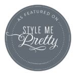 little bit heart - featured - style me pretty, alexandria virginia wedding