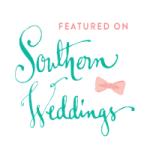 little bit heart - featured - southern weddings, burlap challenge wedding ideas