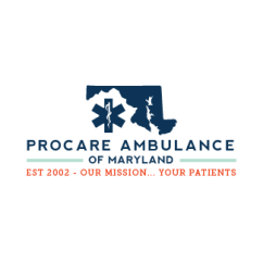 little bit heart | branding design, logo and website design - maryland ambulance company - procare ambulance