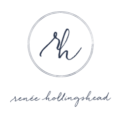 little bit heart | branding design, logo and website design - maryland wedding photographer - renee hollingshead photography
