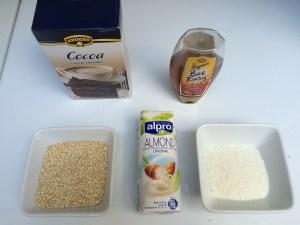 benodigdheden bounty breakfast met quinoa