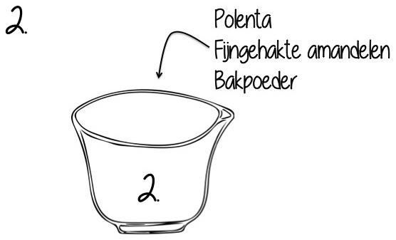 bereiding polenta taart