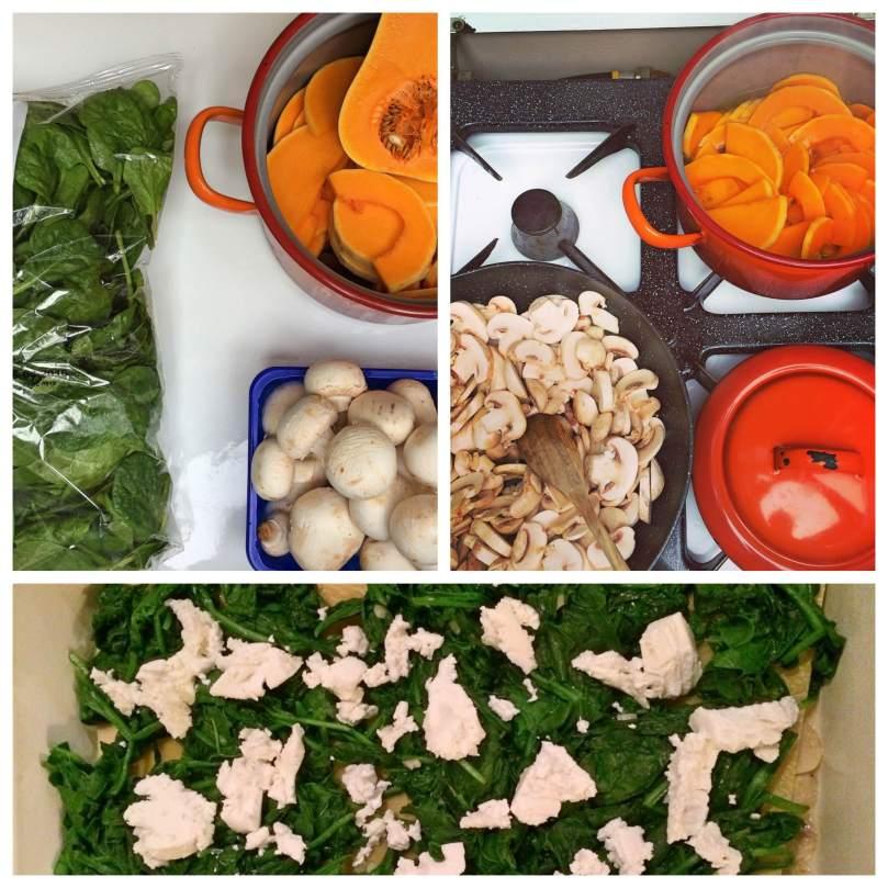 Vegetarische lasagne ingredienten