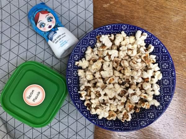 pittige popcorn