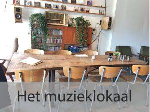 Het muzieklokaal