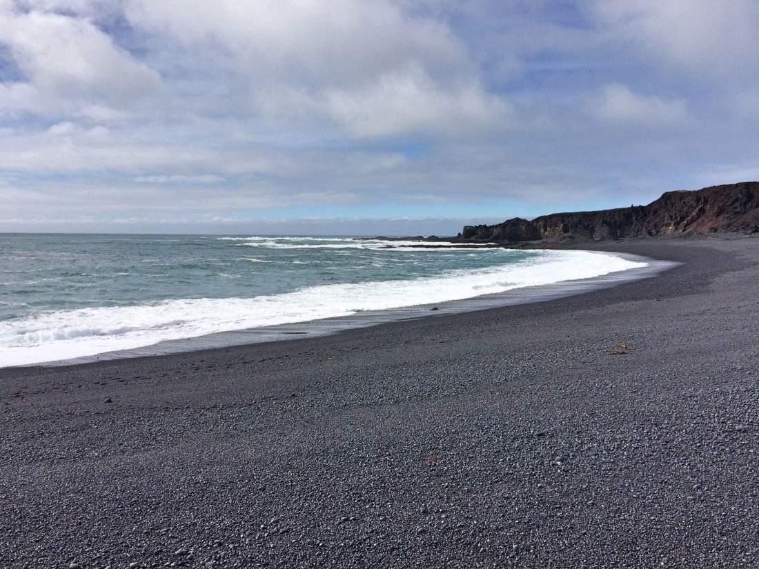 IJsland zwarte stranden Vik