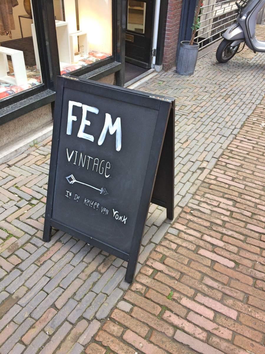 Fem Vintage kleding shoppen in Utrecht