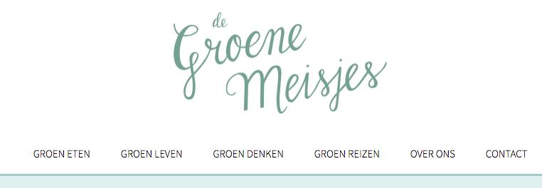 groene blog de groene meisjes