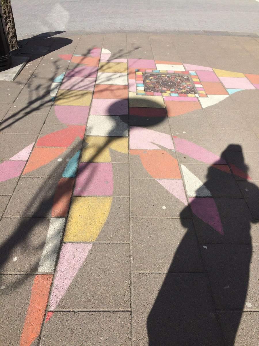 Cityguide Reykjavik gekleurde straten