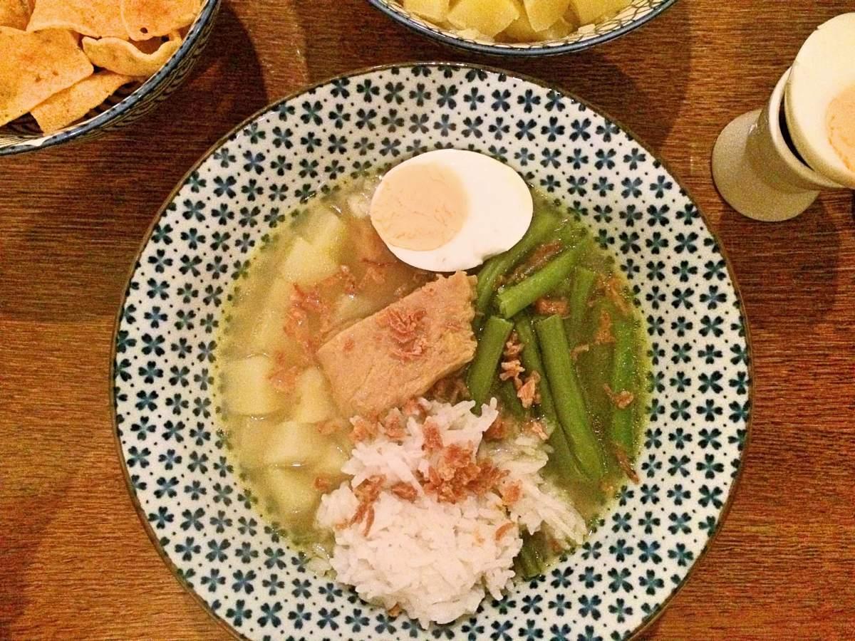 Vegetarische Soto Ajam