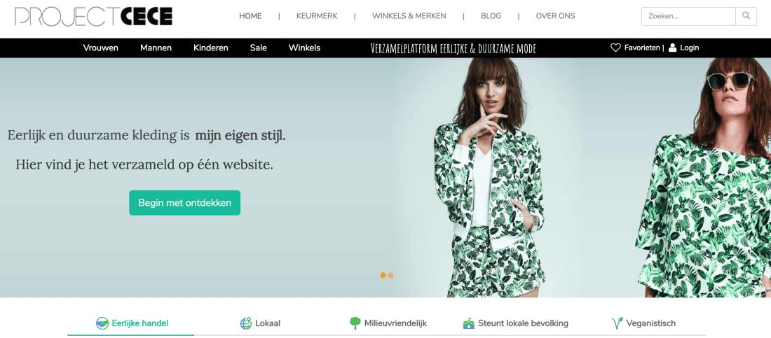project cece webshop