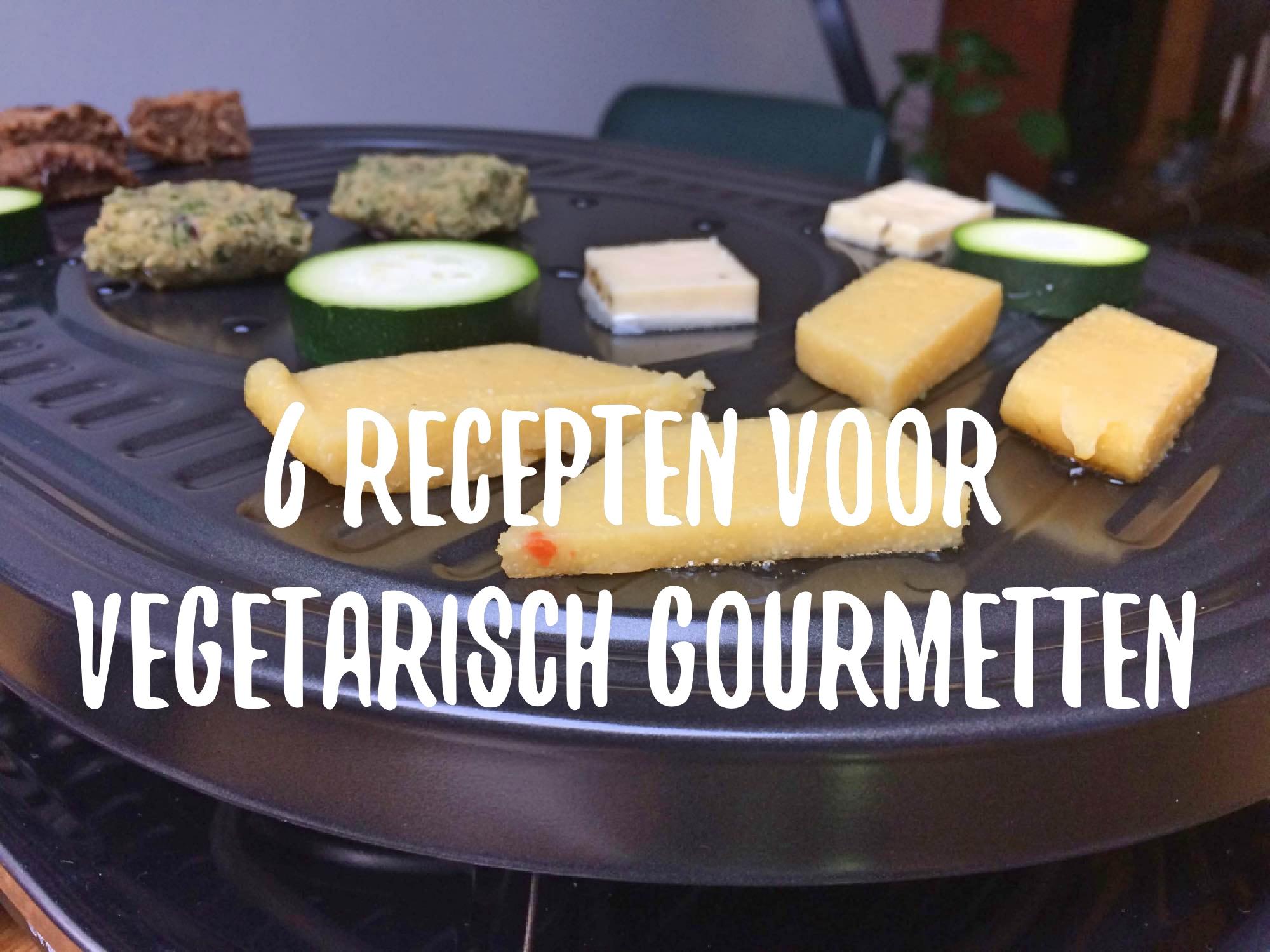6 recepten voor vegetarisch gourmetten