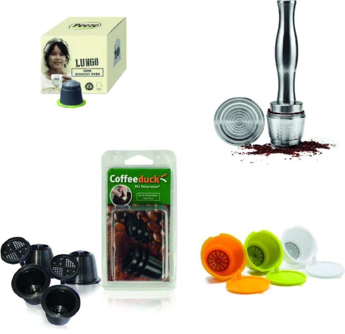 Alternatieven voor koffie capsules - duurzaam koffie en thee zetten