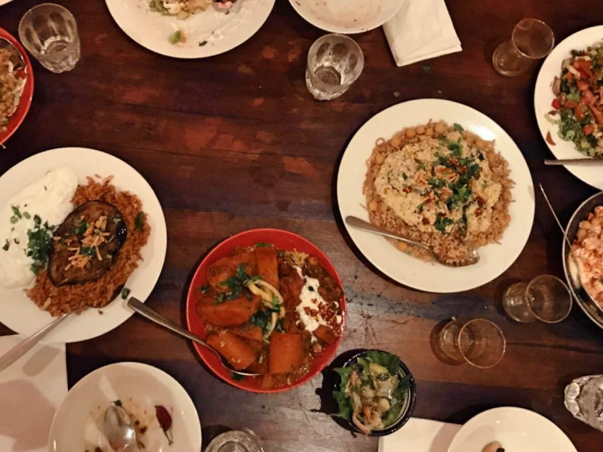 Dineren bij de maroccan soup bar