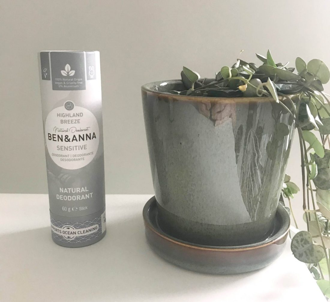 Natuurlijke deodorant zonder baking soda - Ben&Anna Sensitive - Highland Breeze