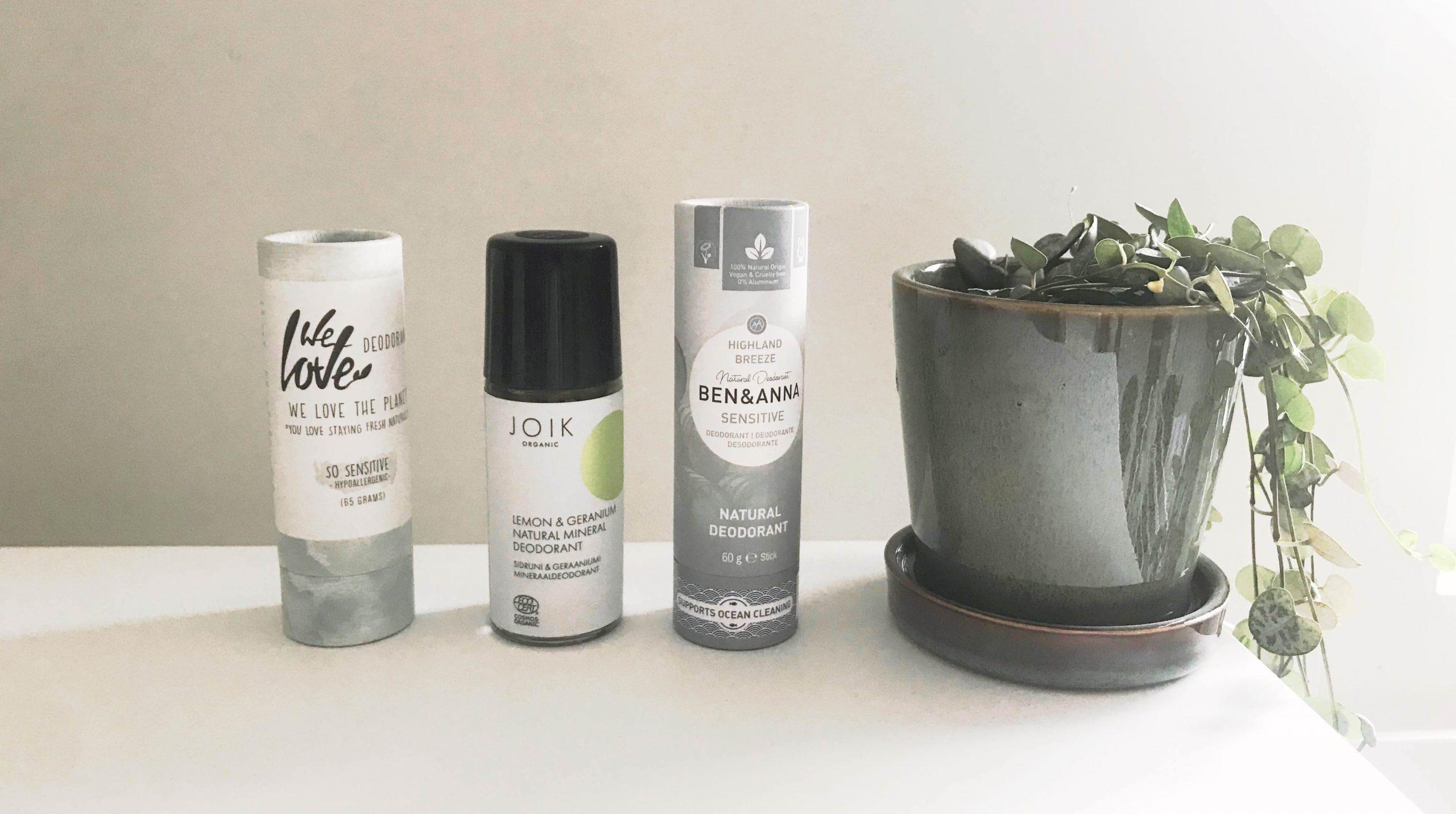 Natuurlijke deodorant zonder baking soda