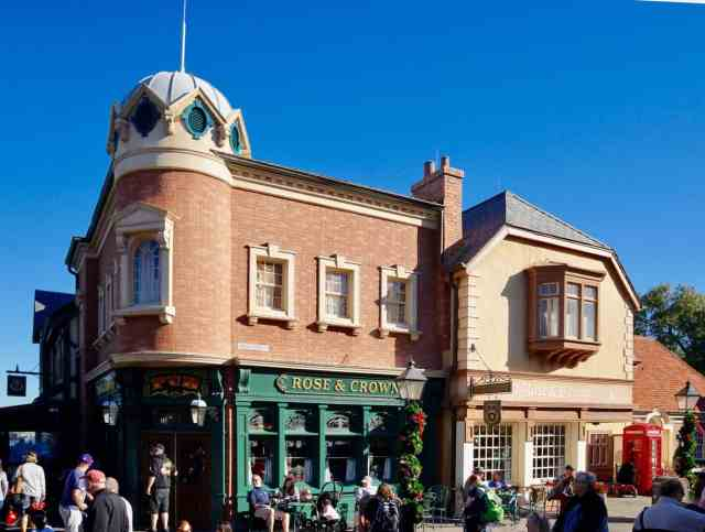 Rose and Crown at Disney's Epcot