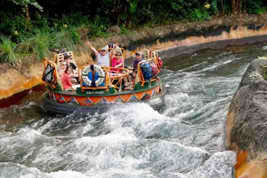 Disney World Thrill Ride - Kali River Rapids