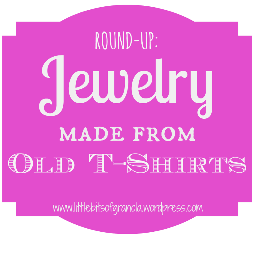Craft Ideas Using Old T Shirts